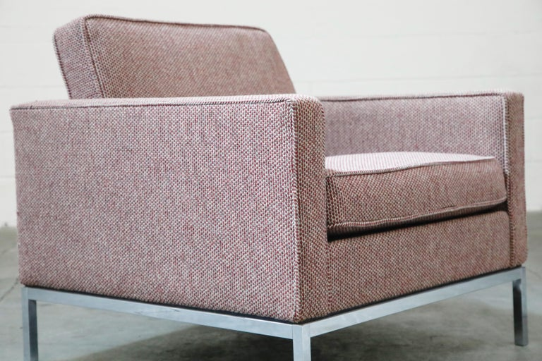 Florence Knoll for Knoll International Lounge Armchair, circa 1980s For Sale 4