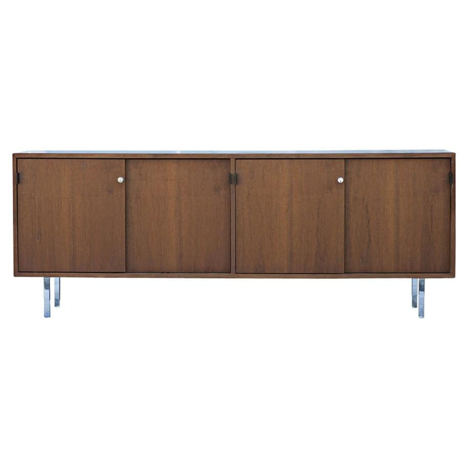 Florence Knoll for Knoll Walnut Credenza