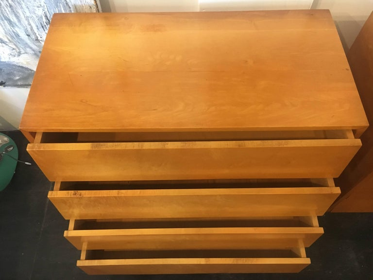 Florence Knoll Pair of Dressers or Chests, 1950 For Sale 1