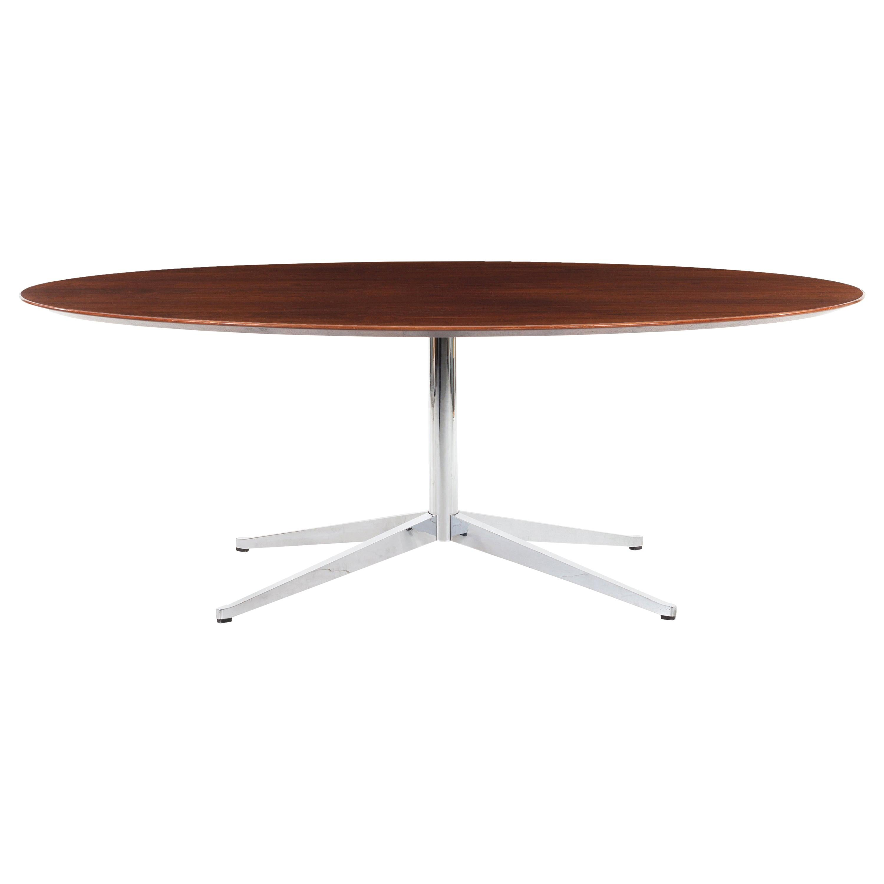 Florence Knoll Rosewood Dining Table or Desk