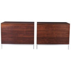 Florence Knoll Rosewood Dressers