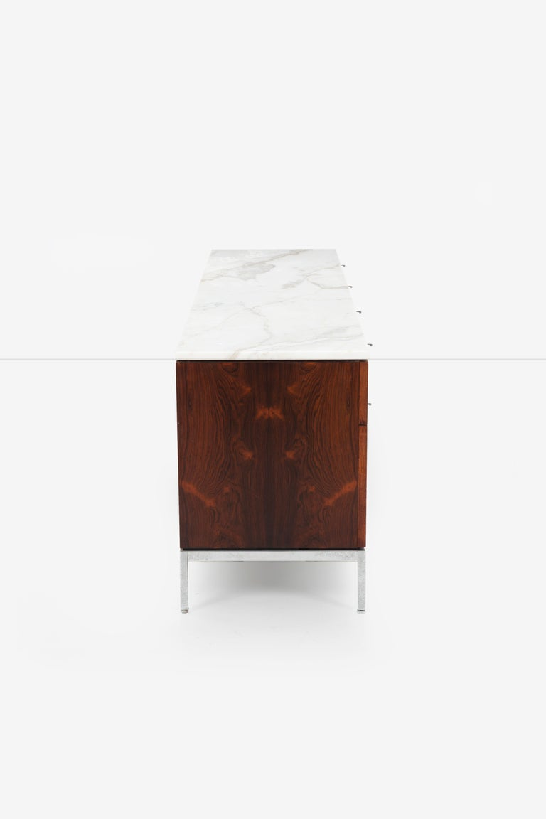 Florence Knoll Rosewood Storage Cases For Sale 5