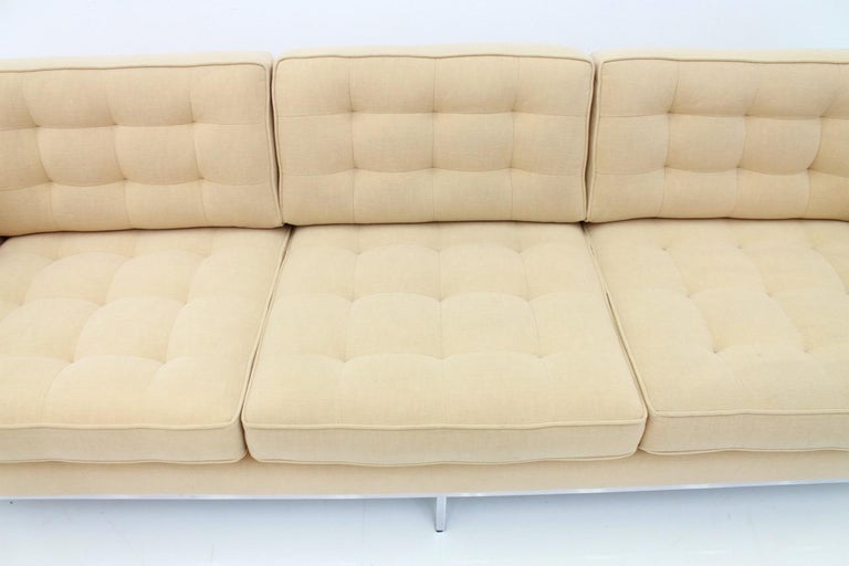 Mid-20th Century Florence Knoll Sofa for Knoll International For Sale