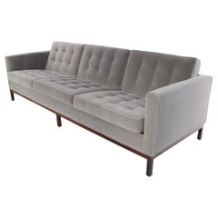 Florence Knoll Sofa on Rosewood Base