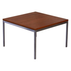 Florence Knoll Square Walnut Coffee Table