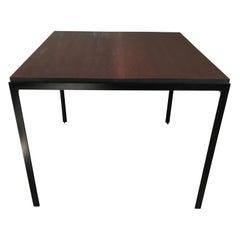 "Florence Knoll ""T"" Angle Mahogany Table"