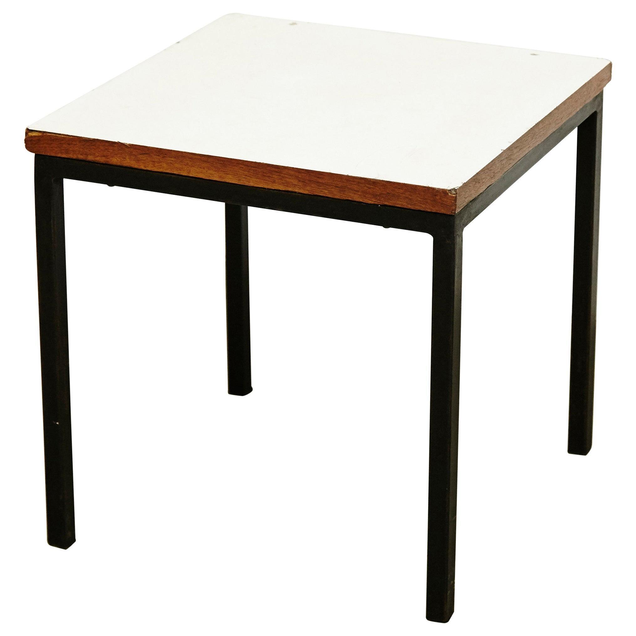 Florence Knoll T-Angle Side Table, circa 1950