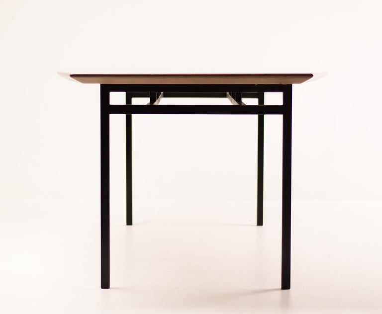 Florence Knoll Teak Model 578 Table For Sale 4