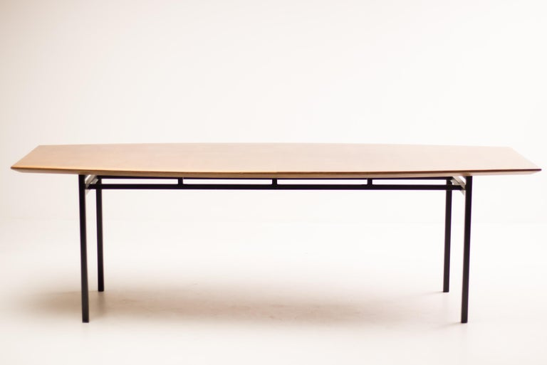 Mid-20th Century Florence Knoll Teak Model 578 Table For Sale