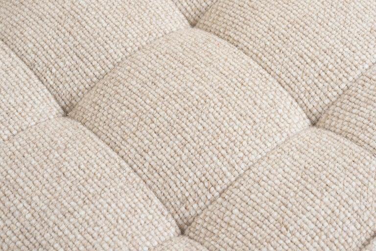 Florence Knoll Three-Seat Tuxedo Sofa For Sale 4