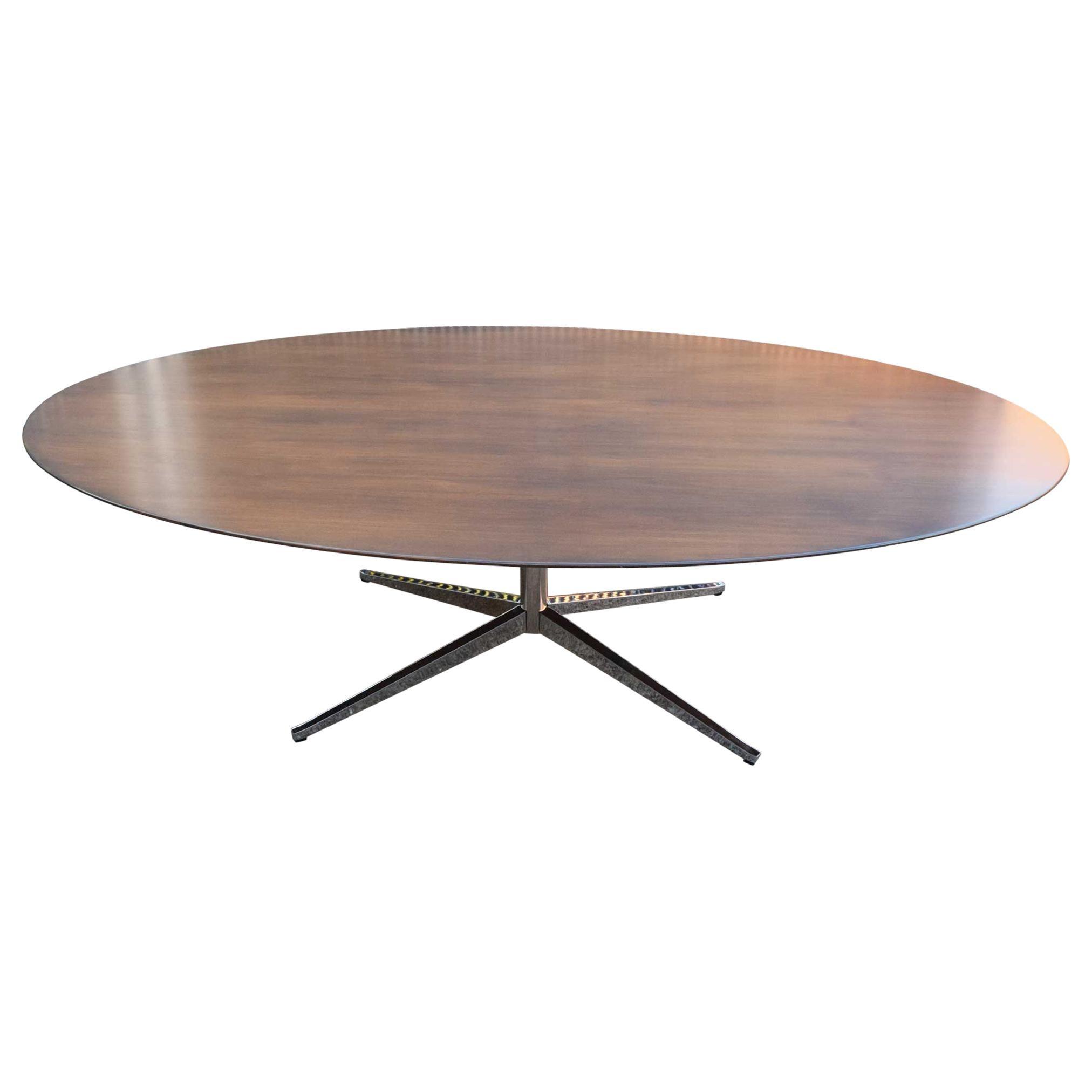 Florence Knoll Walnut Table