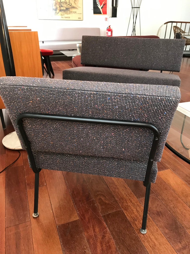 Mid-20th Century Florence Knoll's Lounge Set, for Knoll, circa 1950 For Sale