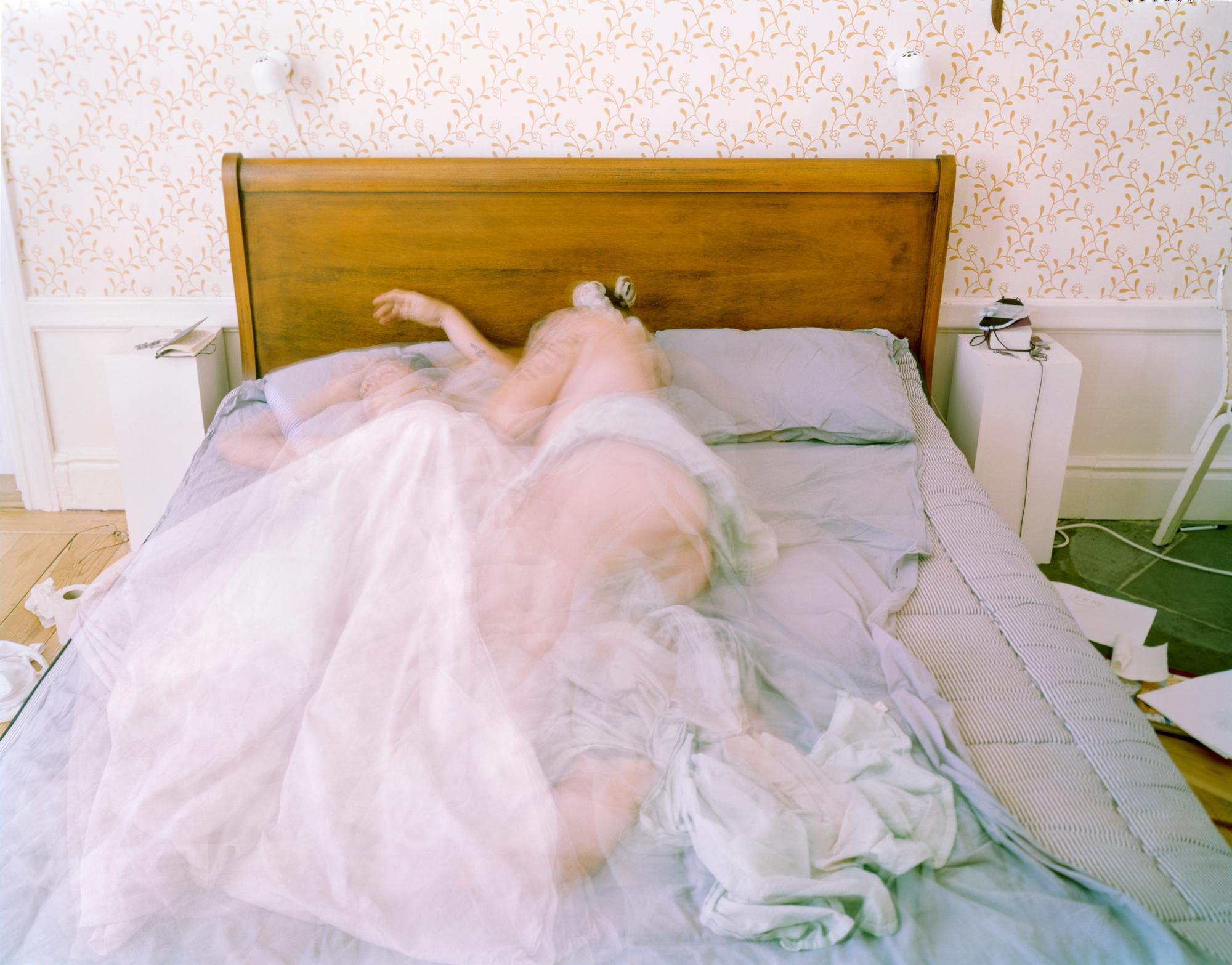 Long exposure figurative Photography: 'Illuminations No. #42'