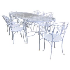Florentine Craft Studio Patio Dining Set Garden Furniture, 1920s