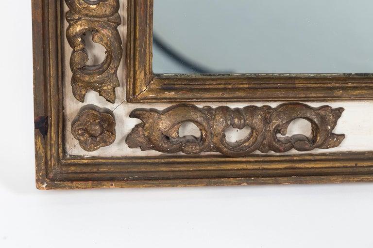 Mid-Century Modern Florentine Style Gilded Mirror, Mid-20th Century For Sale
