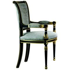 Floret Armchair in Velvet