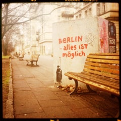 a Piece of Berlin - alles ist möglich - Pieces of Berlin - Graffiti, Streetart