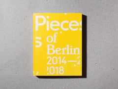 'Pieces of Berlin 2014-2018' book signed + 'Glowing', C-Print, Ed. of 3