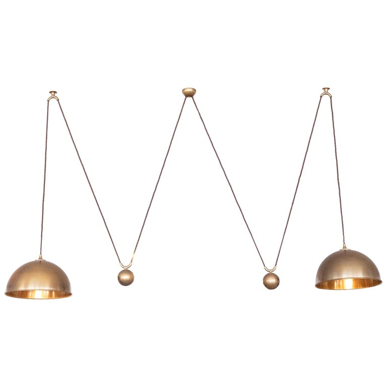 Florian Schulz Attributed Double Dome Counterbalance