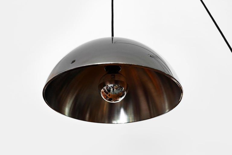Polished Florian Schulz Double Counterbalance Pendant For Sale