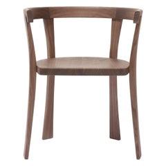 Floridita Chair, Solid Walnut Wood, David Ericsson