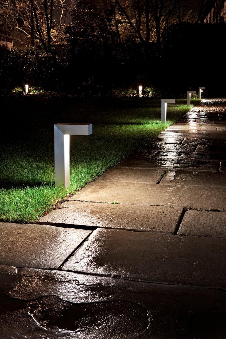 Italian FLOS 45 ADJ LED 2 Outdoor Path Lamp in Black by Tim Derhaag For Sale