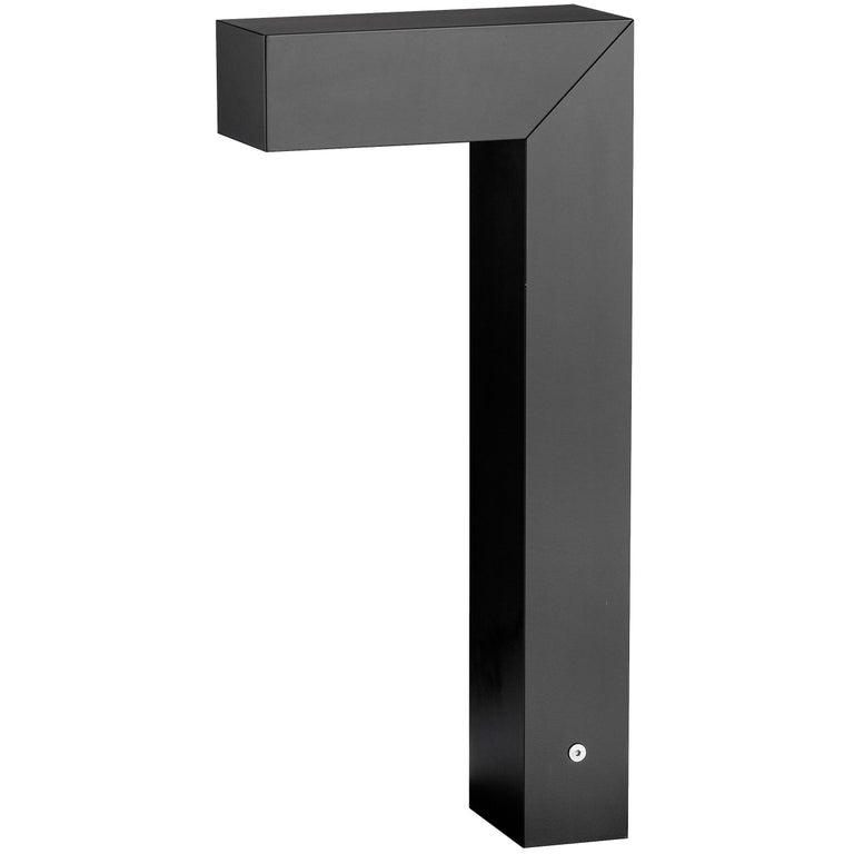 FLOS 45 ADJ LED 2 Outdoor Path Lamp in Black by Tim Derhaag For Sale