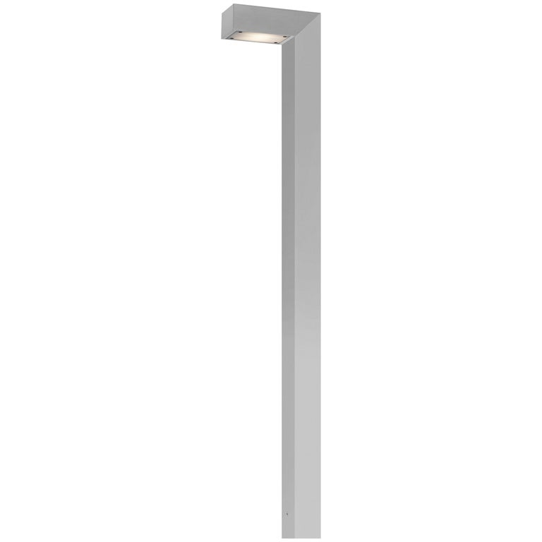 FLOS 45 ADJ LED 3 Outdoor Path Lamp in Aluminum by Tim Derhaag For Sale