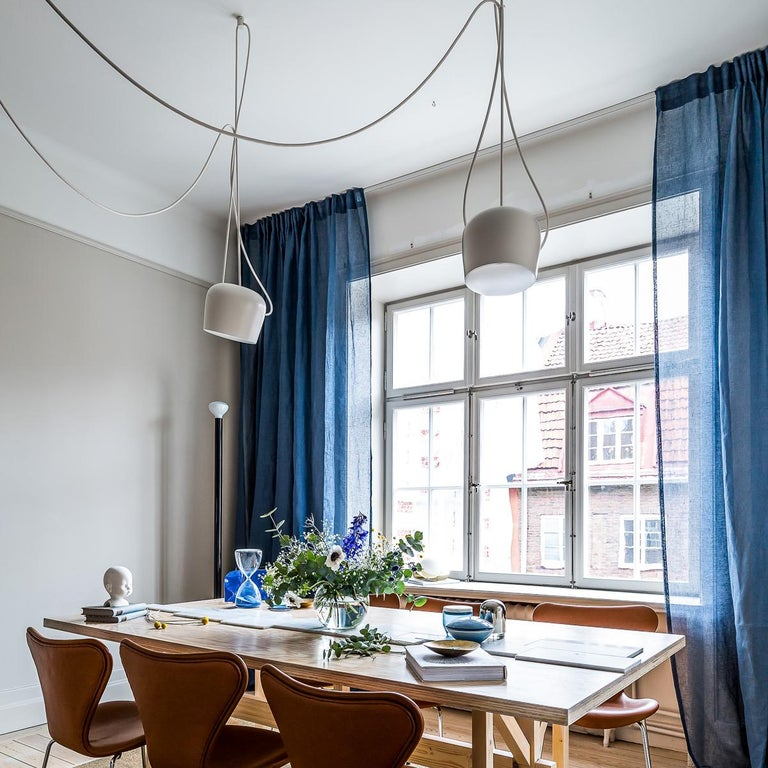 Bouroullec Modern White Plug-In Hanging Aim Pendant Light for FLOS, in stock For Sale 9