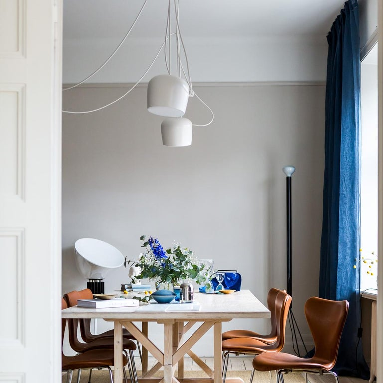 Bouroullec Modern White Plug-In Hanging Aim Pendant Light for FLOS, in stock For Sale 10