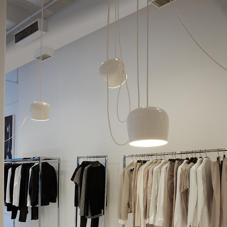 Bouroullec Modern White Plug-In Hanging Aim Pendant Light for FLOS, in stock For Sale 3