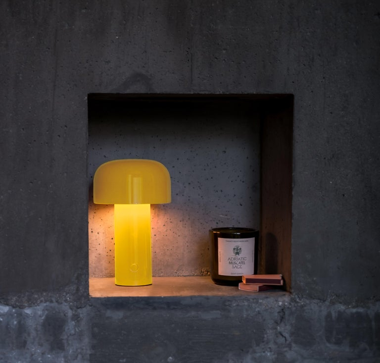 Modern Flos Bellhop T-Table Lamp in Yellow by Edward Barber & Jay Osgerby For Sale