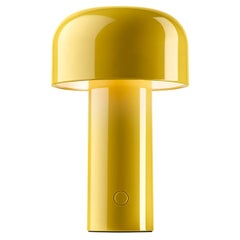 Modern Resin Yellow Portable Rechargable Wireless Desk or Table Lamp for FLOS