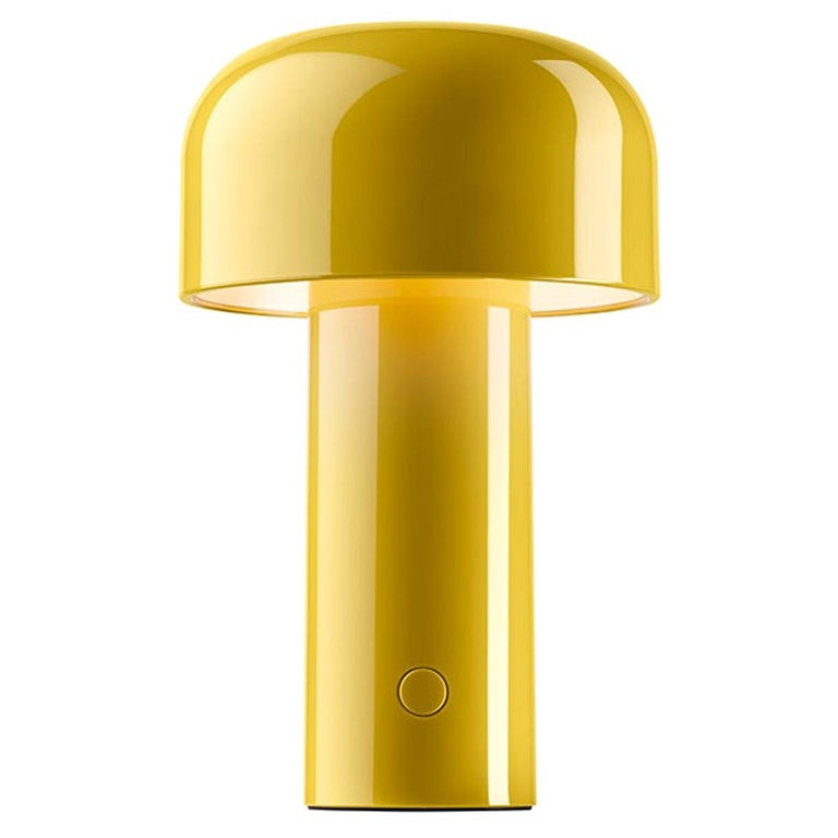 Flos Bellhop T-Table Lamp in Yellow by Edward Barber & Jay Osgerby For Sale