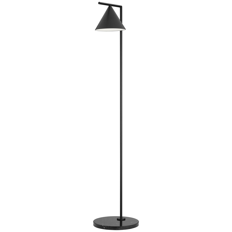 FLOS Captain Flint Floor Lamp in Black by Michael Anastassiades
