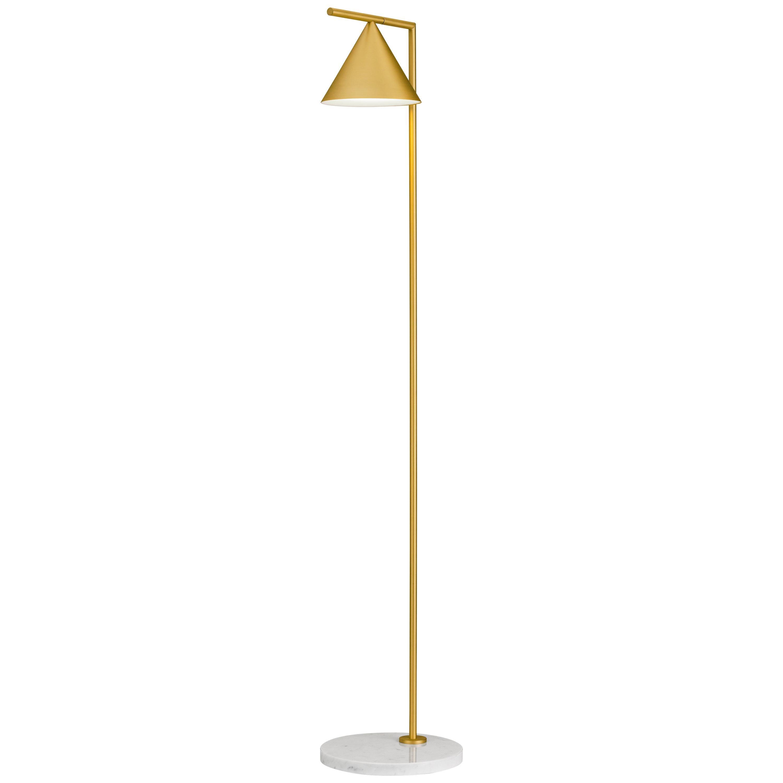 FLOS Captain Flint Floor Lamp in Brass Finish by Michael Anastassiades
