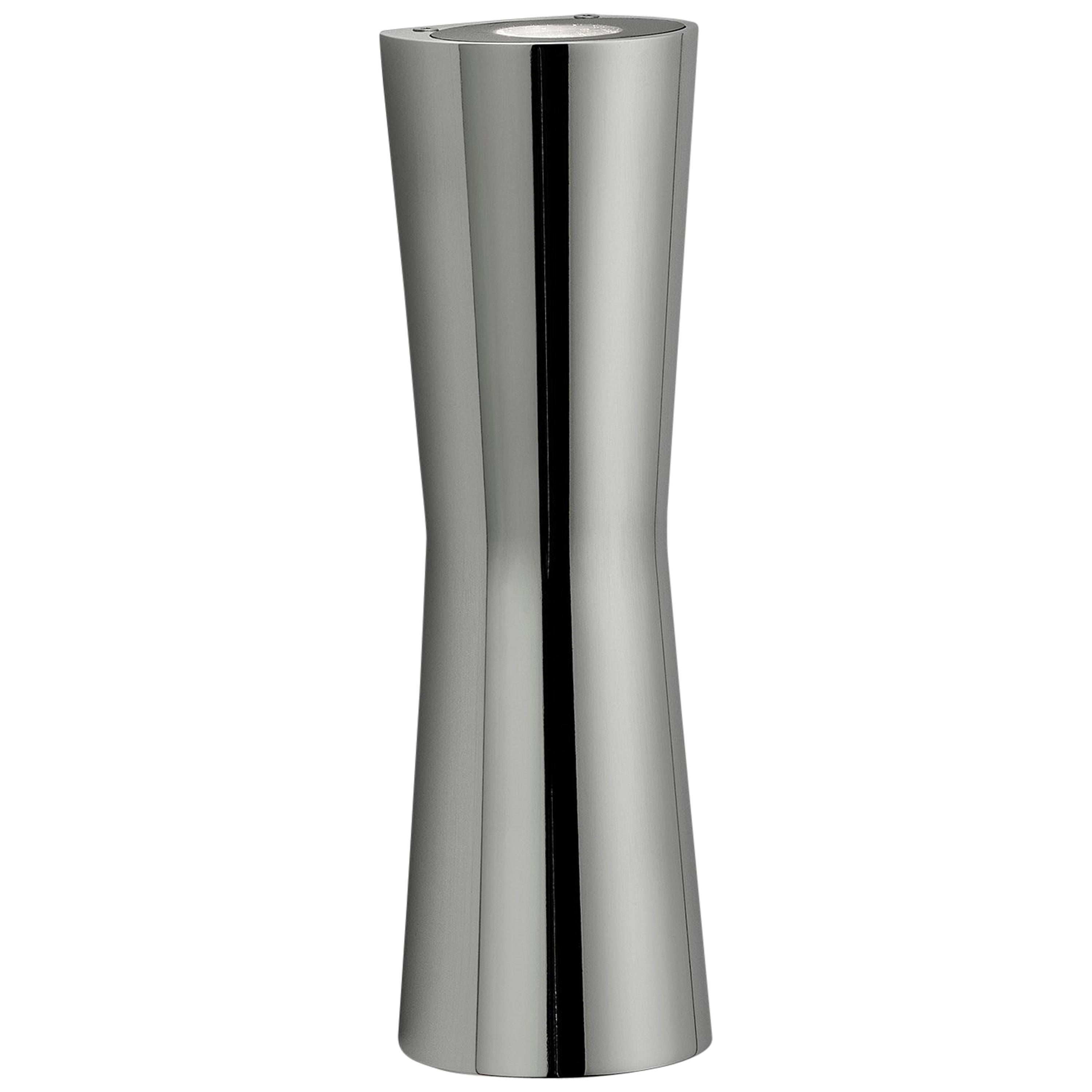 FLOS Clessidra 20° + 20° Indoor Wall Lamp in Chrome by Antonio Citterio