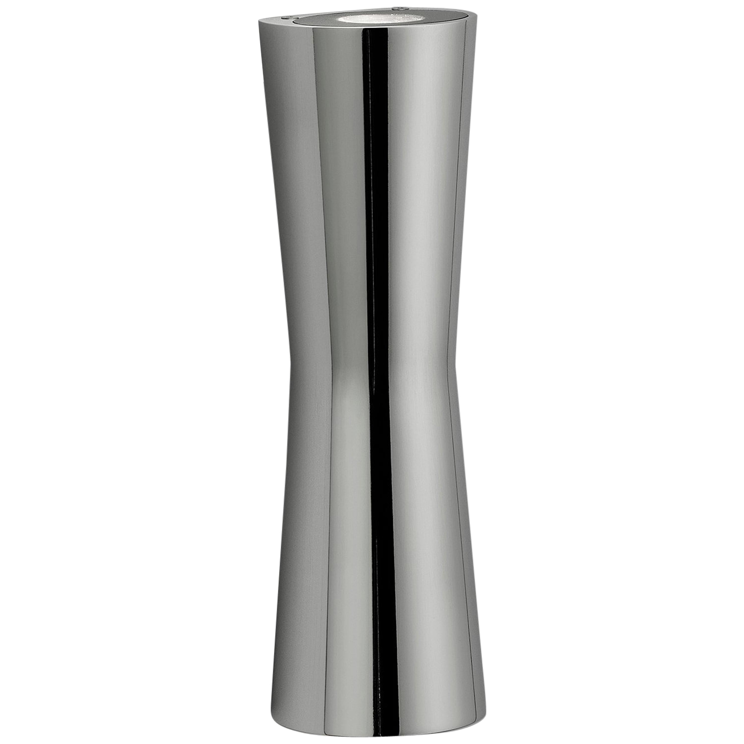 FLOS Clessidra 40° + 40° Indoor Wall Lamp in Chrome by Antonio Citterio