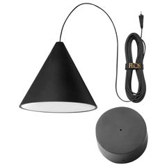 Flos Cone String Light with Canopy by Michael Anastassiades