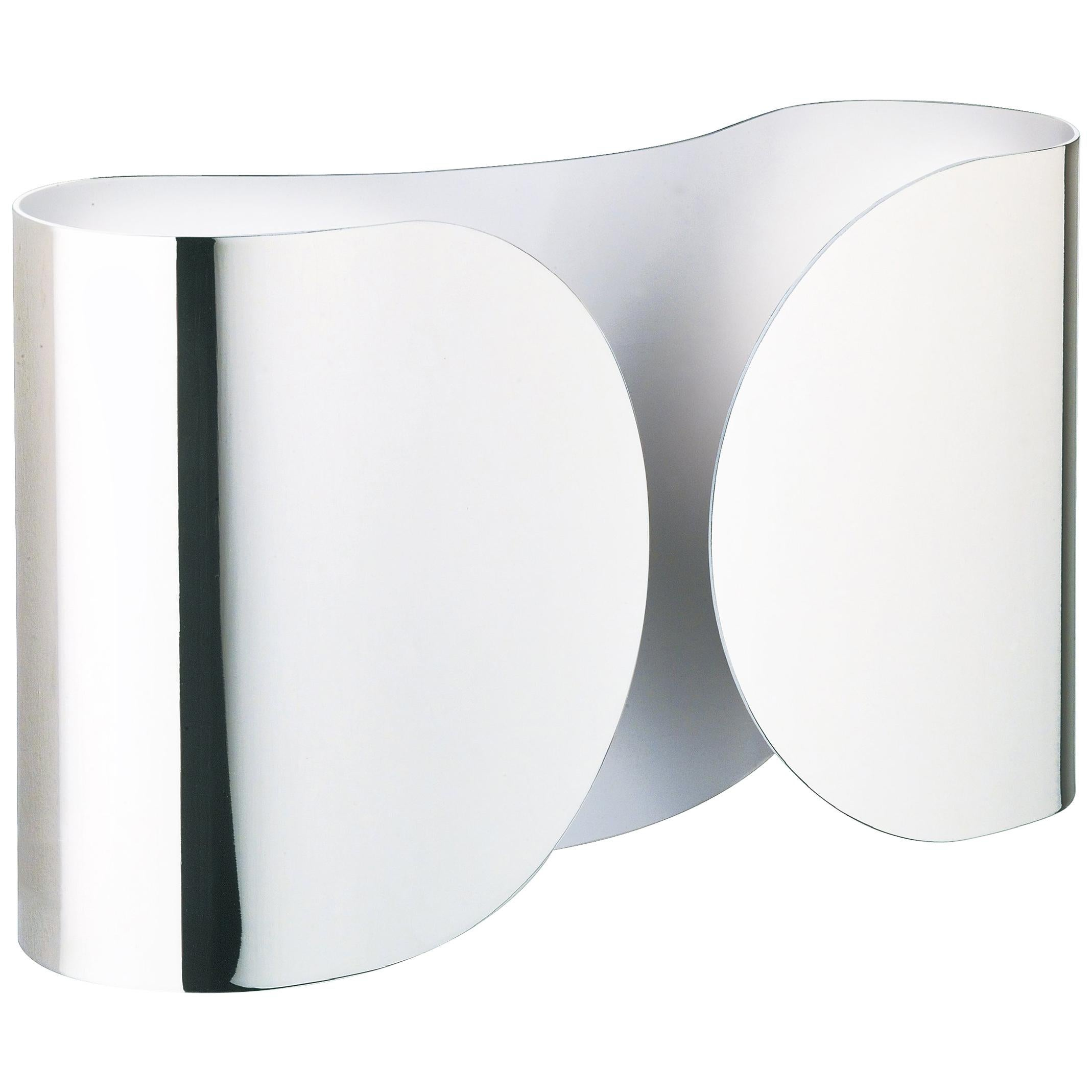 FLOS Foglio Light in Chrome by Tobia Scarpa
