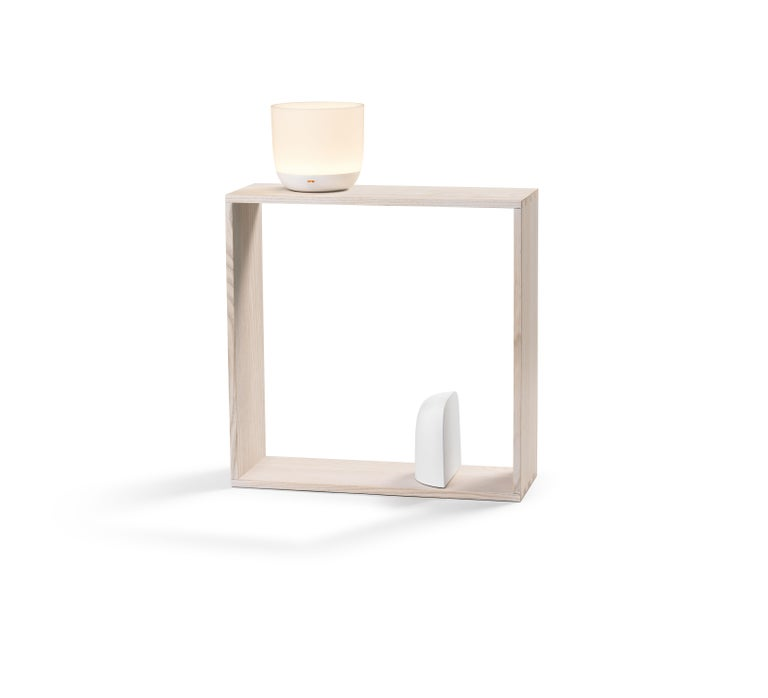 Flos introduces Gaku, a creative modular light set in an open ash frame by acclaimed design studio Nendo. A world of options opens up inside and outside the natural- or black-stained frame, where lighting components and accessories can be customized