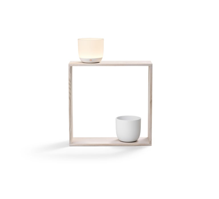 Modern Flos Gaku Wireless Table Lamp in White by Nendo For Sale