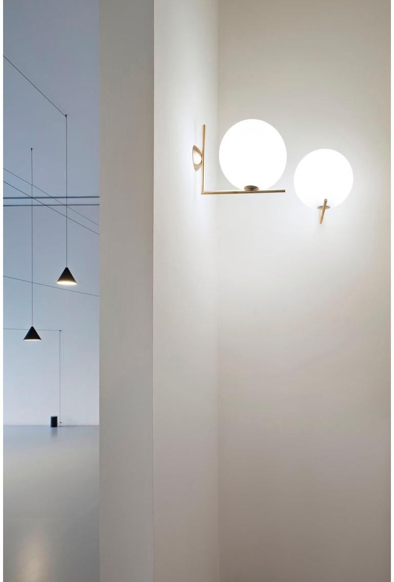 Flos Ic 2 Ceiling And Wall Light In Chrome By Michael