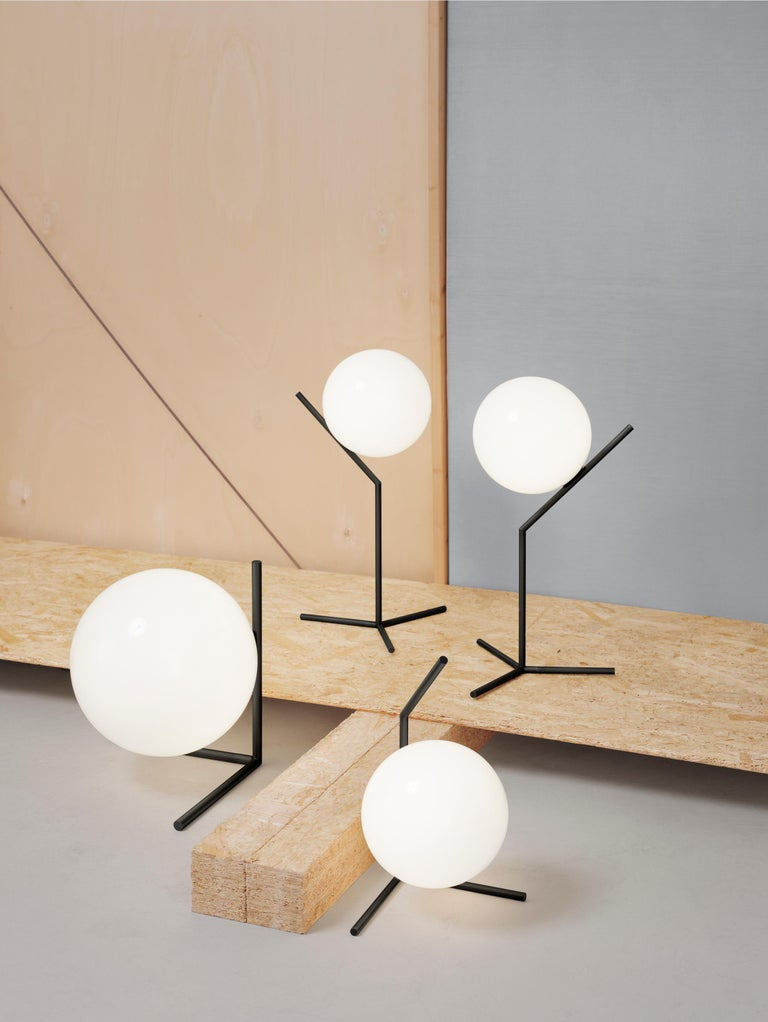Contemporary Michael Anastassiades Modern Minimalist Black Steel S1 Pendant Light for FLOS For Sale