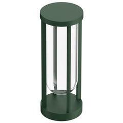Flos In Vitro Bollard 1 2700K LED Floor Lamp in Forest Green by Philippe Starck