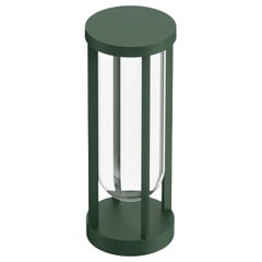 Flos In Vitro Bollard 1 3000K LED Floor Lamp in Forest Green by Philippe Starck