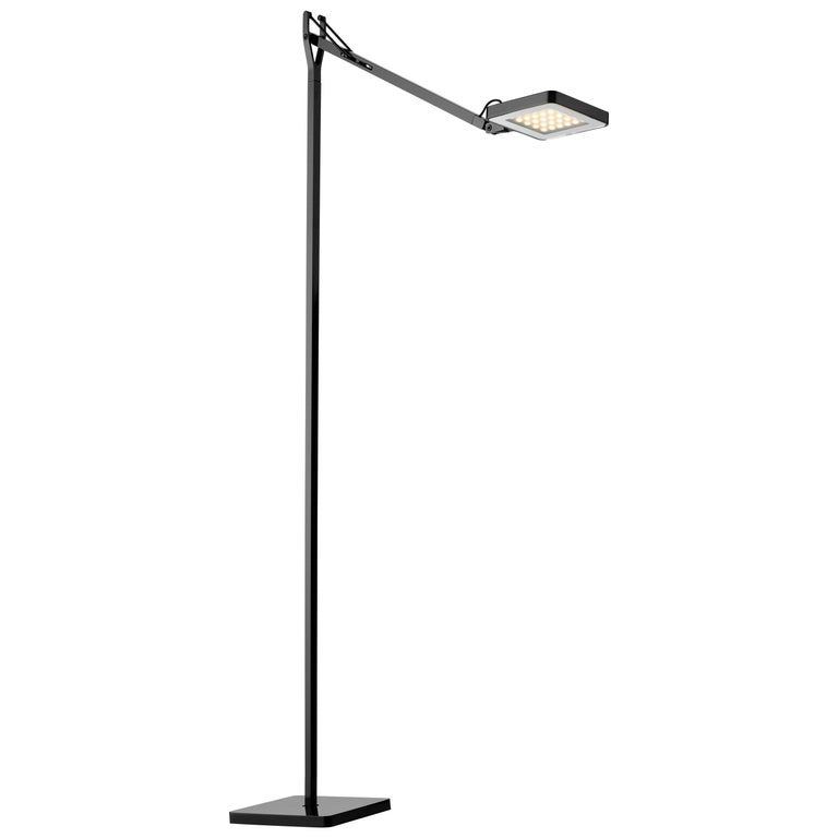 FLOS Ipnos Outdoor Floor Lamp in Black by Nicoletta Rossi & Guido Bianchi For Sale