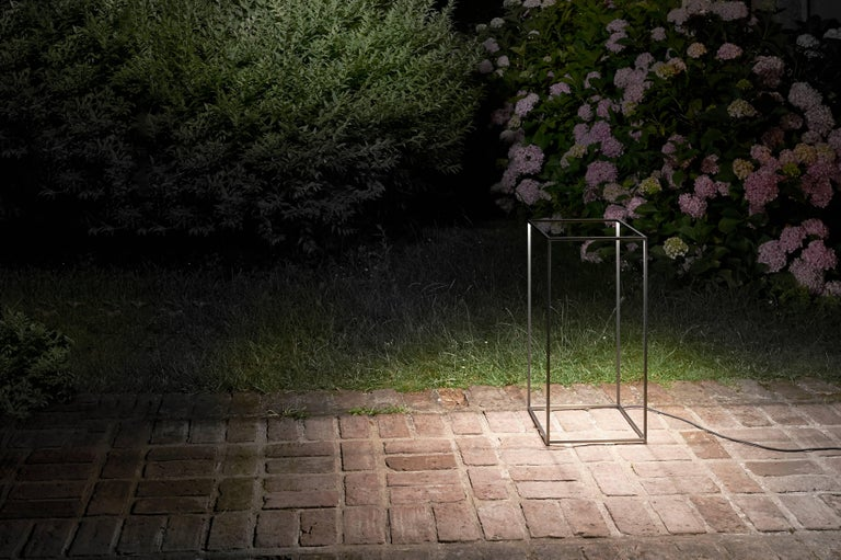 Modern FLOS Ipnos Outdoor Floor Lamp in Bronze by Nicoletta Rossi & Guido Bianchi For Sale