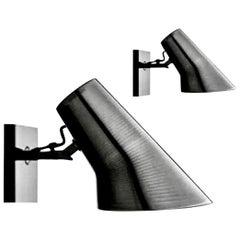 Flos Kelvin Spot Nero Black Wall Lamp, Modern Sconce Lamp, Antonio Citterio