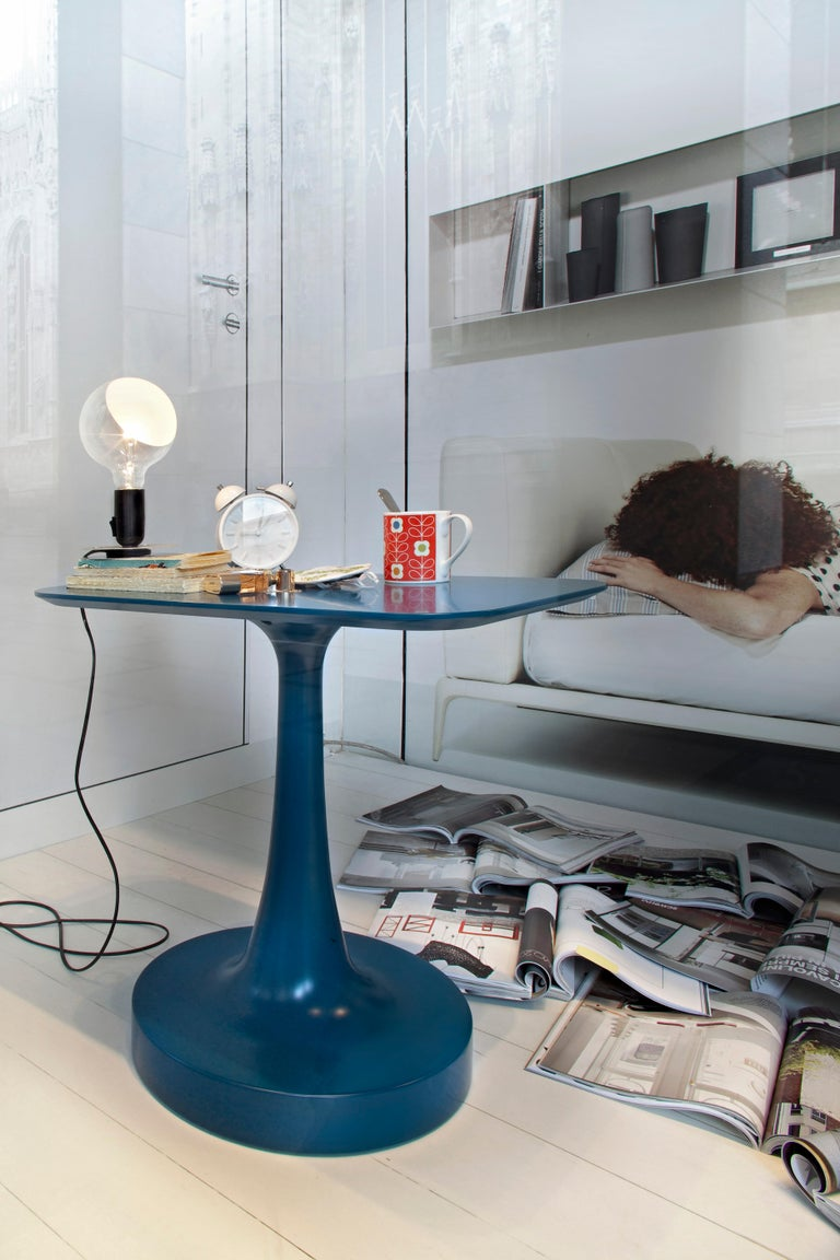 FLOS Lampadina LED Table Lamp in Black by Achille Castiglioni For Sale 2
